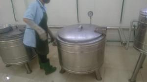 Nồi nấu cơm dùng cho xưởng may