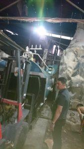 Lò hơi 3000 kg/h  lắp đặt cho xưởng giặt là