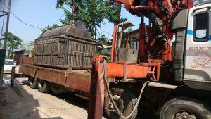 Chế tạo lò hơi 1500 kg/h cho xưởng sản xuất nha