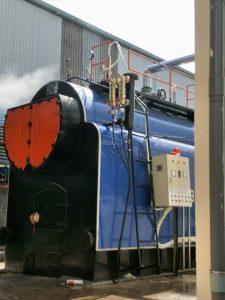 Lắp đặt lò hơi 1800 kg/h tại Thái Bình