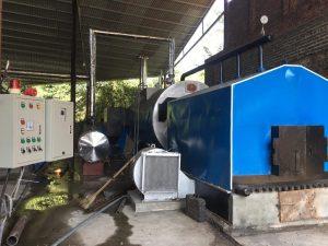 Nồi hơi 7000 kg /h lắp đặt tại công ty gỗ Phú Thọ