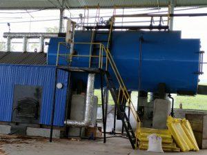 Nồi hơi 8 tấn lắp đặt tại Thanh Sơn , Phú Thọ